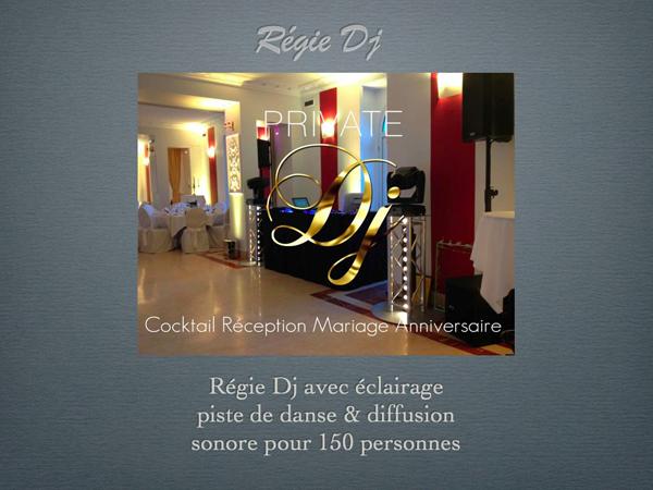 Régie dj PRIVATE DJ 600X450