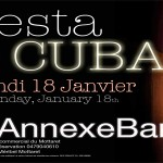 Flyer soirée Fiesta de Cuba à l'Annexebar 2009 by PRIVATE DJ