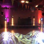 Régie DJ MUSIC TOUR EFFET LYRES RGB